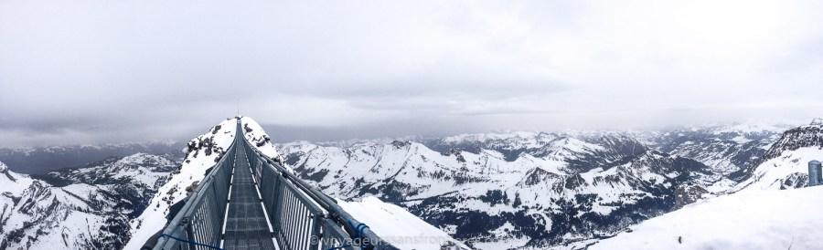 Panorama de la Peak Walk - Glacier 3000, Suisse