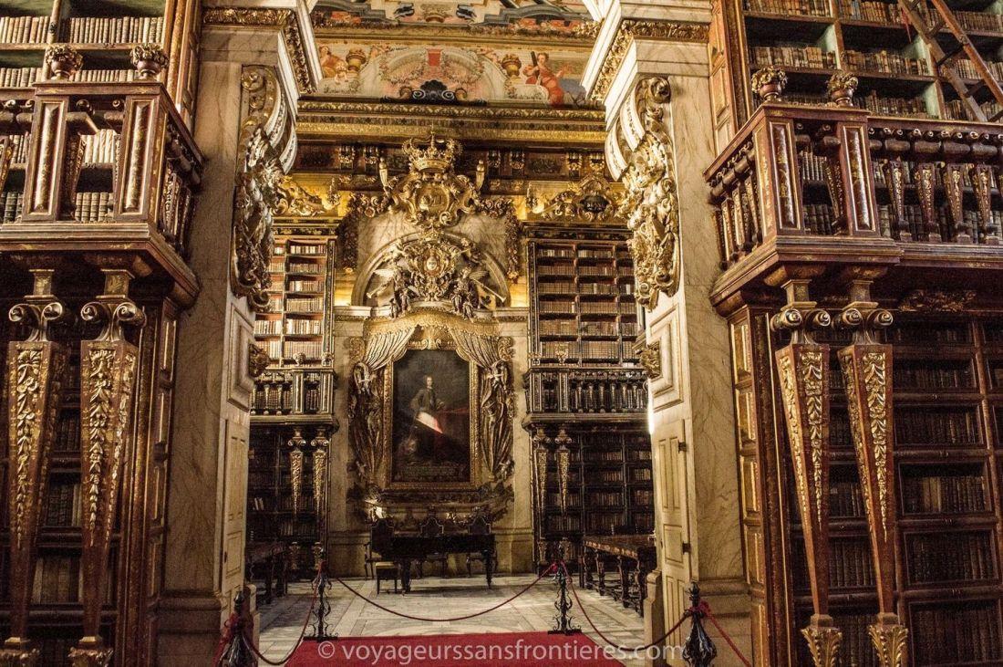 Joanina library - University of Coimbra, Portugal