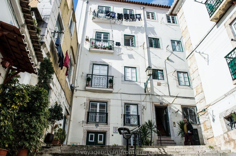 Quartier de l'Alfama - Lisbonne, Portugal