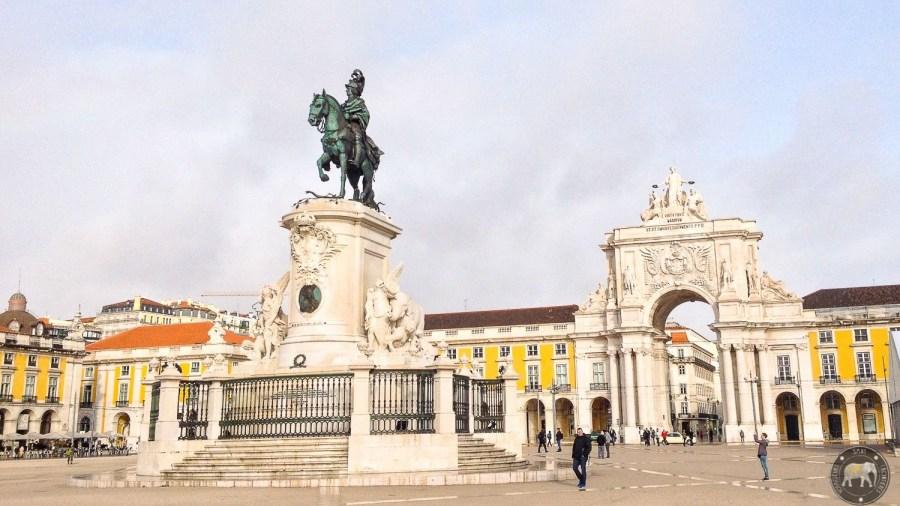 Praça do Comércio - Lisbon, Portugal