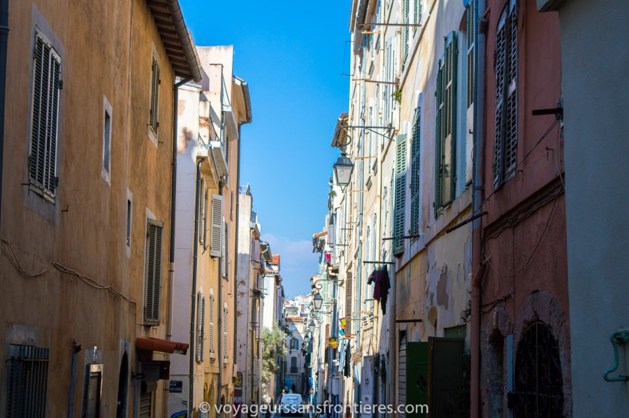 Dans les rues de Marseille - France