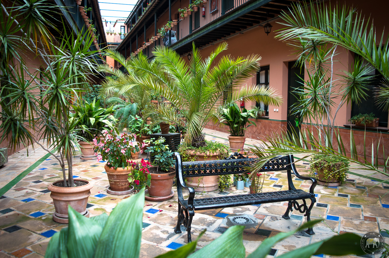 Patio de la Cartuja booked with Bookbedder - Seville, Spain