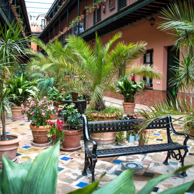 Patio de la Cartuja réservé avec Bookbedder - Séville, Espagne