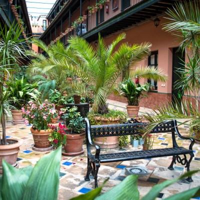 Patio de la Cartuja booked with Bookbedder - Seville, Spain