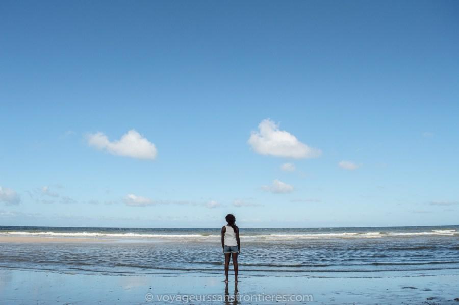 Nath sur la plage de Kijkduin - La Haye, Pays-Bas