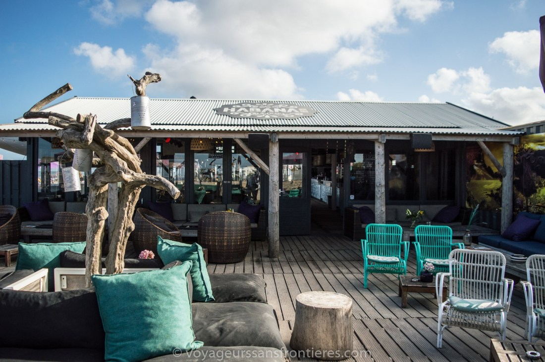 Terrace of the Habana Beach on the Kikjduin beach - The Hague, Netherlands