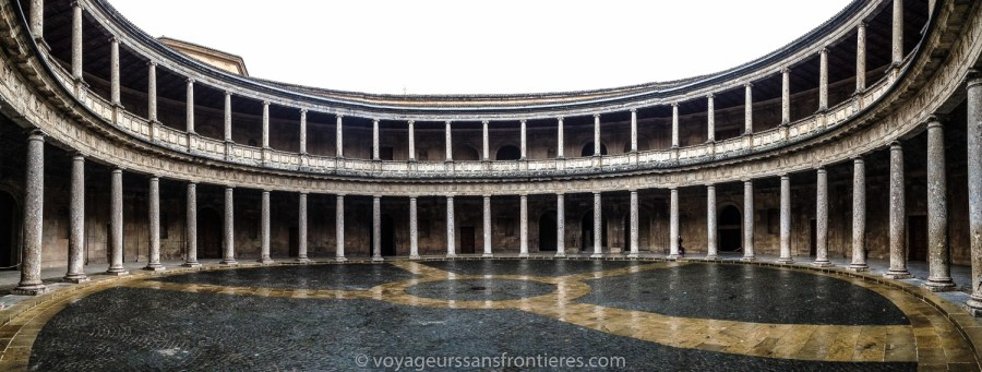 Palace of Charles V at the Alhambra - Granada, Spain