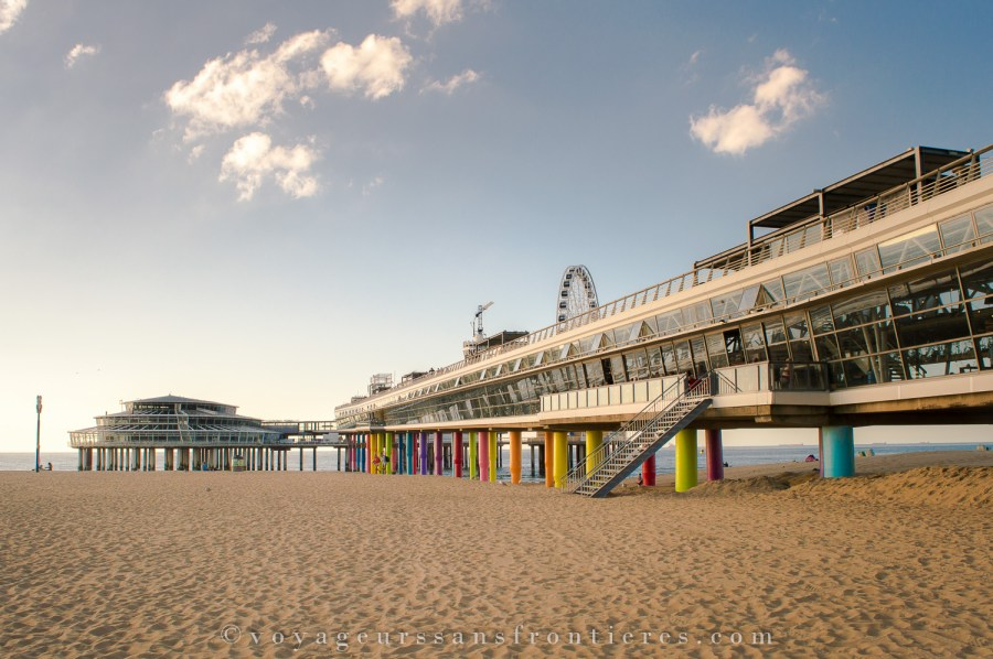 The pier at the Scheveningen beach - The Hague, Netherlands