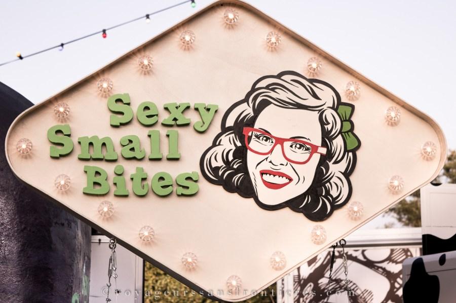 Sexy small bites au TREK Festival - La Haye, Pays-Bas