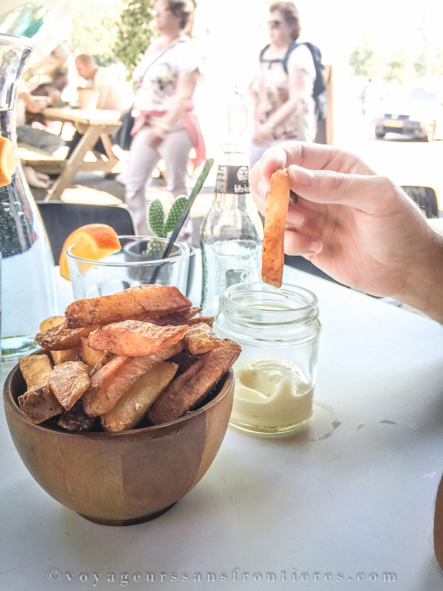 Delicious homemade fries at Instock - The Hague, Netherlands
