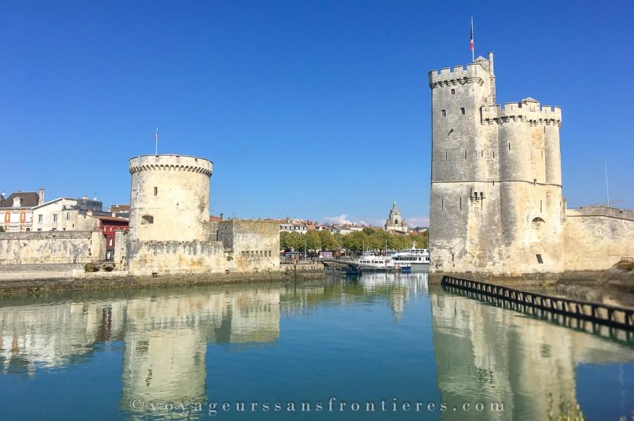 Tour de la Lanterne et Tour Saint Nicolas - La Rochelle, France