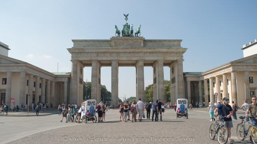 Porte de Brandenburg - Berlin, Allemagne