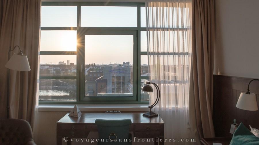 Vue depuis notre chambre à l'hôtel Ameron Abion - Berlin, Allemagne