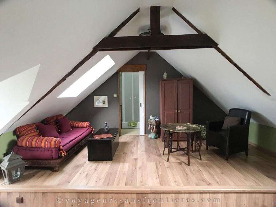 Suite Bambou au Moulin de la Fosse Noire - Saint-Malo-de-Beignon, France