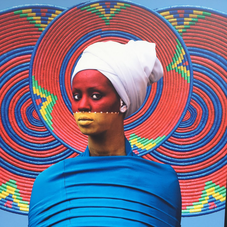 """The world is 9"" by Aïda Muluneh - 2017 La Gacilly Photo Festival, Brittany"