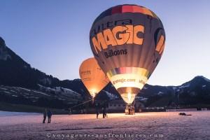 Festival International du Ballon 2018 - Château-d'Oex, Suisse
