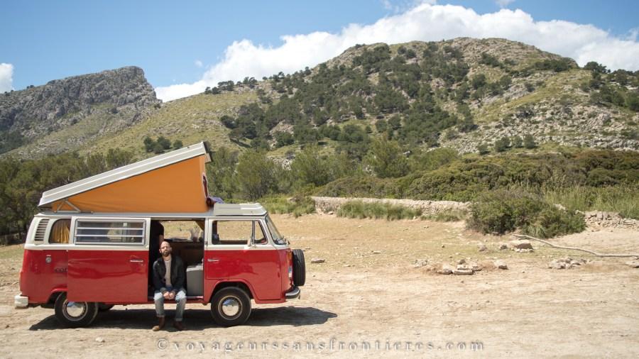 Roadtrip en van - Majorque, Espagne