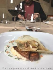 Daurade au restaurant Els Tallers à Siurana - Catalogne, Espagne