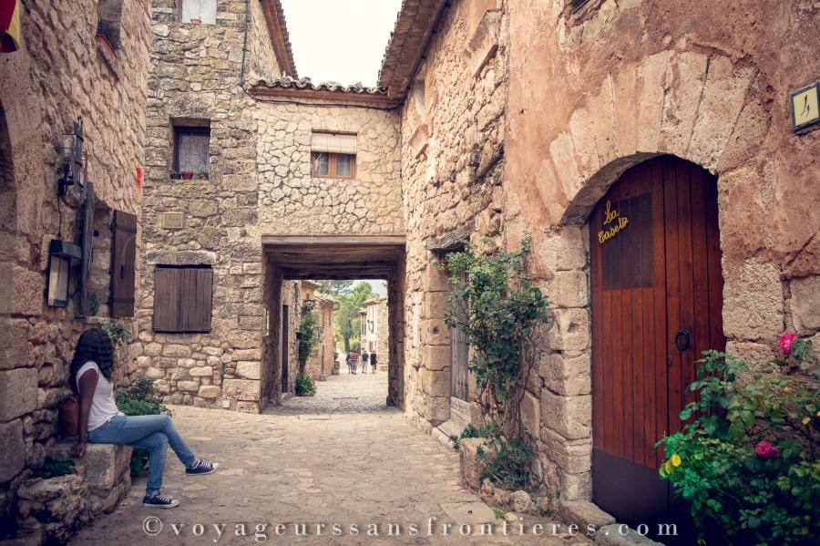 Balade dans les ruelles de Siurana - Catalogne, Espagne