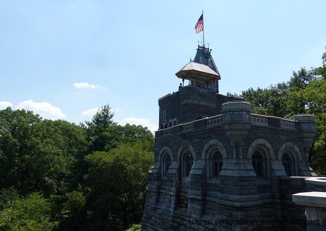 Vue sur Belvedere Castel de Central Park