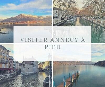 Visiter Annecy à pied en une journée