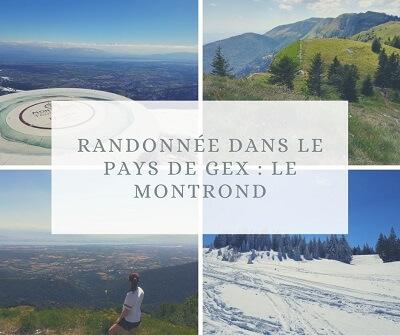 Randonnée dans le Pays de Gex : le Montrond depuis le col de la Faucille