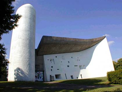 Chapel of Ronchamp by Le Corbusier FrancheComt France