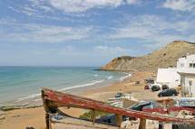 Burgau Beach And Boats Algarve - Portugal