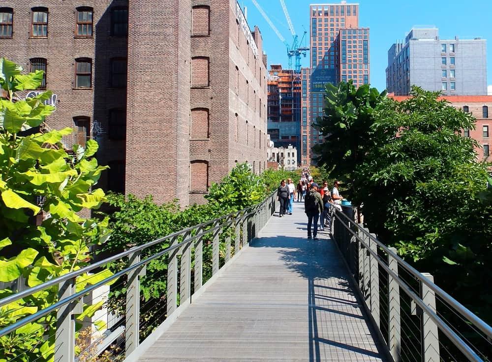 HIGH LINE en Nueva York  un parque diferente y original