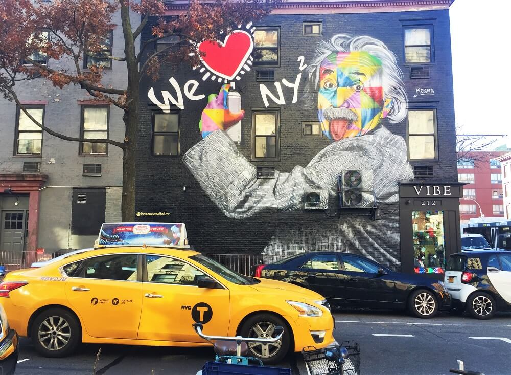 Supporting artistic freedom, acceptance and freedom the annual event was founded by artist andy golub. Los Murales De Kobra En Nueva York Street Art En Nyc