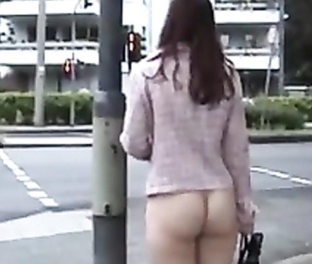 Czech Amateur Chick Is Walking Naked In Public