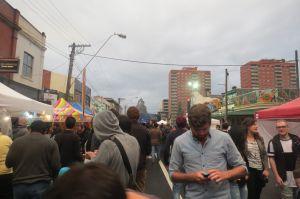 Festival latino de comida  en Melbourne.