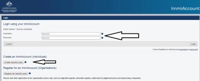 Muestra la opción de crear la cuenta o hacer inicio de sesión con usuario y contraseña si es que está creado anteriormente