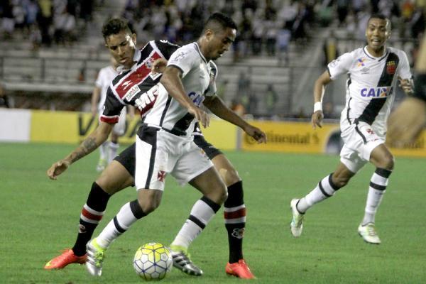 Em São Januário, Santa Cruz empata com Vasco pela Copa do Brasil