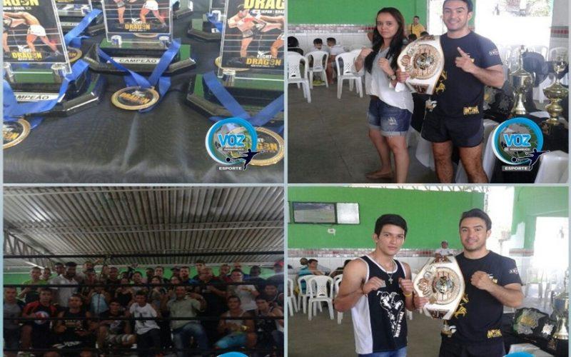 Com Carpina representada, evento de luta Fight Dragon foi realizado em Recife
