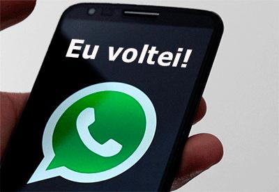 STF determina restabelecimento do whatsApp