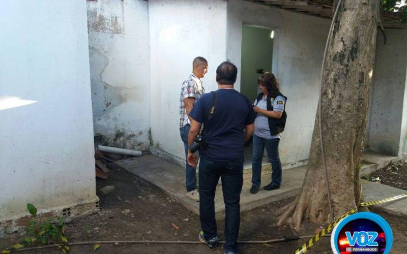 IC realiza perícia na Delegacia de Carpina e constata materiais que foram furtados
