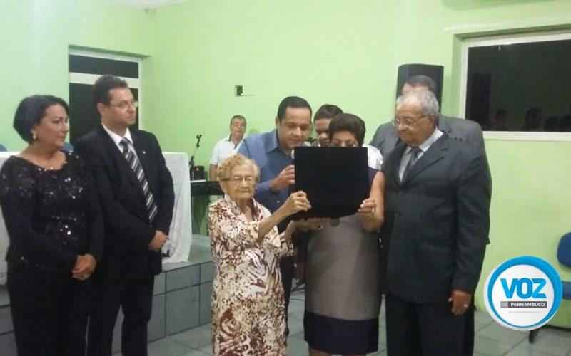 OAB Carpina homenageia Juiz Drº Emiliano Eustáquio