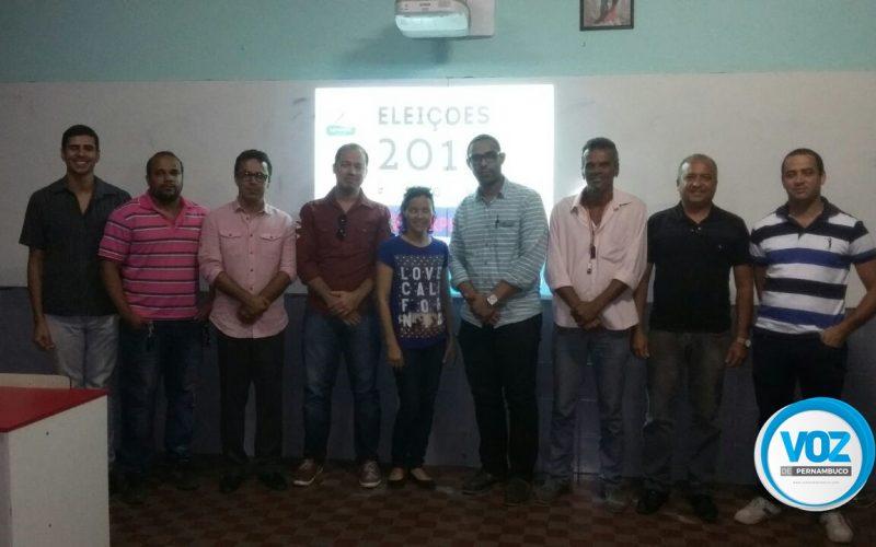 Após reunião, representantes de coligações definem regras de debate dos candidatos à prefeito de Carpina