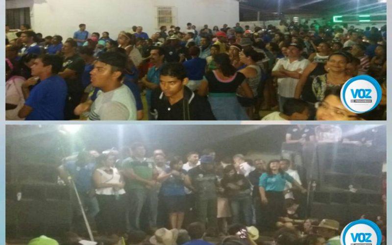 Botafogo realizou comício no loteamento florestinha em Carpina nesta sexta (9)