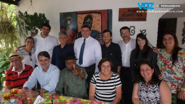 Carpina: Prefeito eleito participa de almoço com vice-governador de Pernambuco