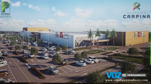 Shopping Carpina será inaugurado em outubro de 2018