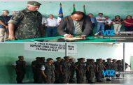 General do Exército visitou o tiro de guerra em Nazaré da Mata na última terça (20)