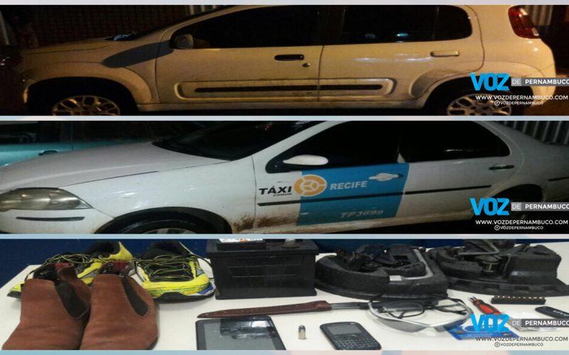 Carro roubado é recuperado em Carpina