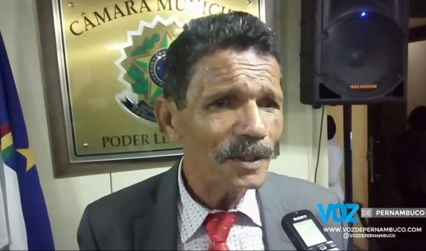 Presidente da câmara de Carpina admite possibilidade de antecipar eleição da mesa diretora