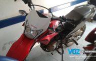 Moto roubada é recuperada em Vicência