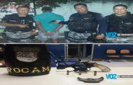 Arma é apreendida com jovens em Lagoa de Itaenga