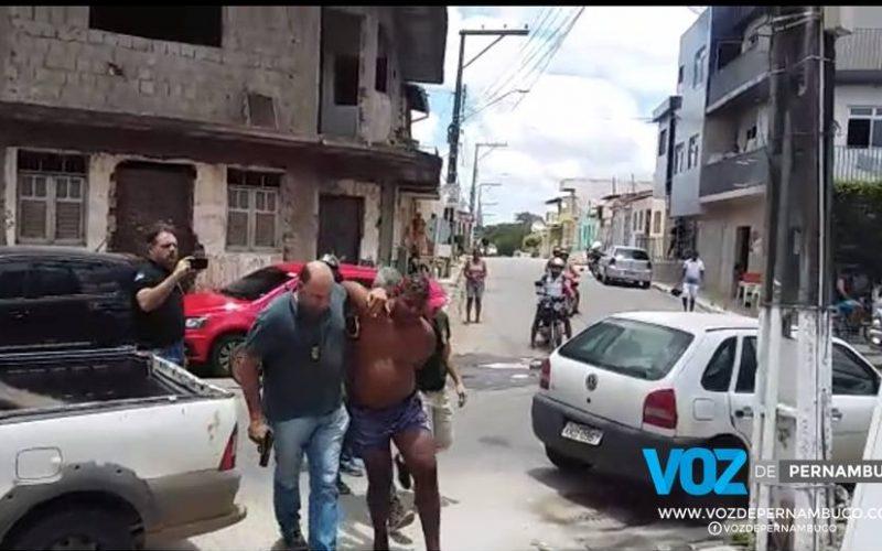 Suspeito de assassinar mulher com mais de 100 facadas é preso em Nazaré da Mata