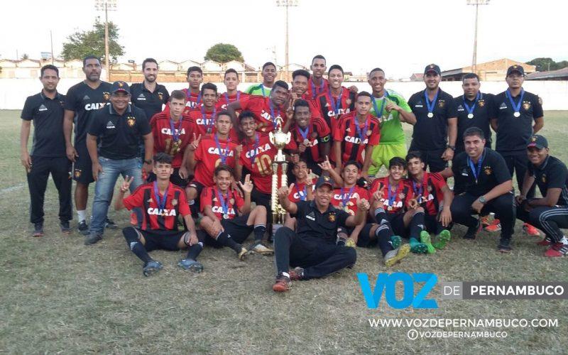 Sport vence Jacuipense-BA e se consagra bicampeão da Copa Carpina Sub-16