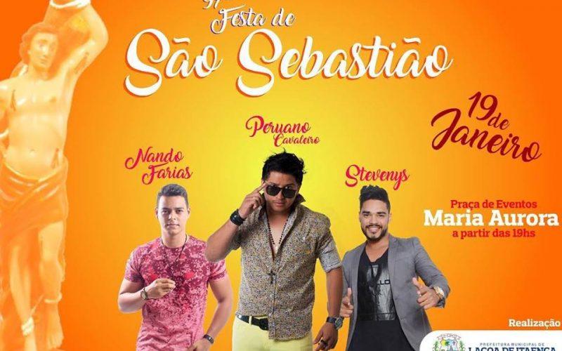 Definidas atrações da Festa de São Sebastião em Lagoa de Itaenga